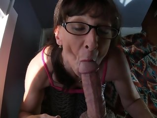 granny , sexy , show , cum , mouth , swallow