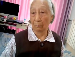 granny , chinese , gets , fucked ,  ,